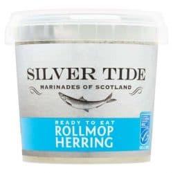 North sea rolled mop herring