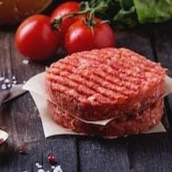 frozen beef burger