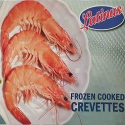 Crevettes frozen