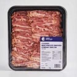 crispy streaky bacon