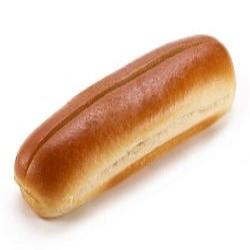 Brioche jumbo dog roll