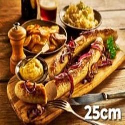 XXL 25cm Bratwurst hot dog