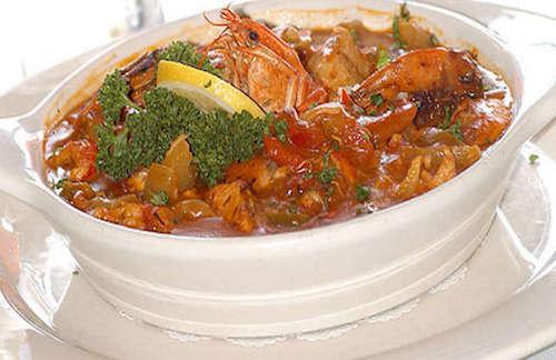 Crayfish Seafood vegies 3