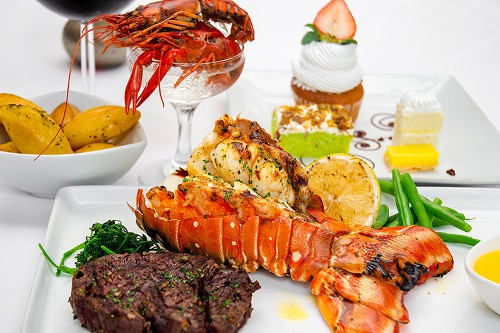 Fresh Beef Fish And Seafood